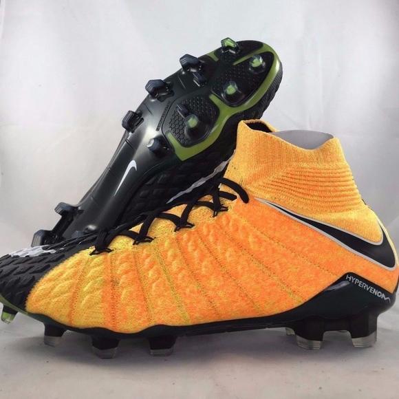 1a6ecedc0f20 Nike Hypervenom Phantom III DF FG Orange Cleats